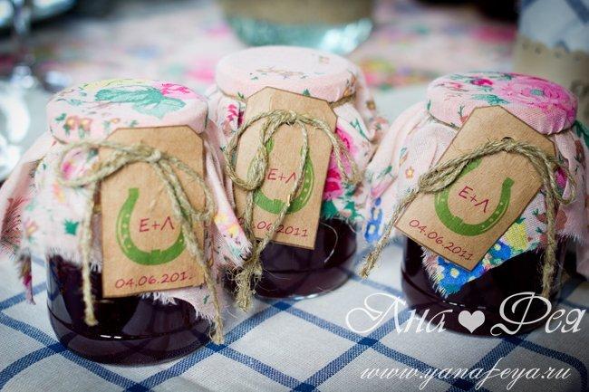 Мешочек для подарка ситцевая свадьба