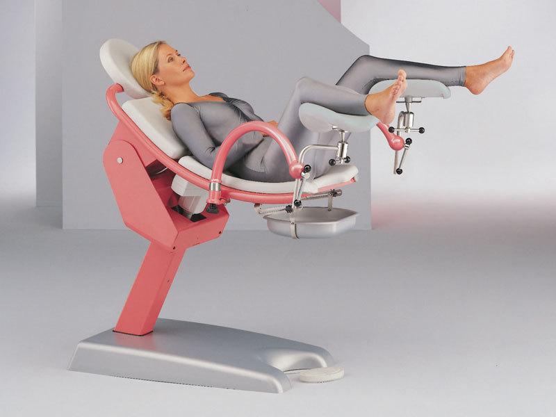 фото в кресле у гинеколог