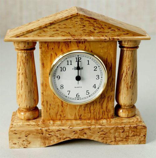 Часы из дерева настольные своими руками