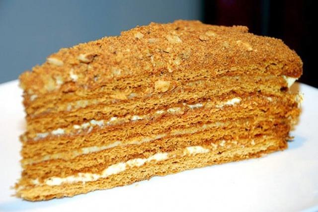 Пирожное медовое рецепт с фото пошагово