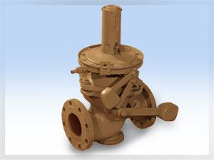 Предохранительный запорный клапан ПЗК-100