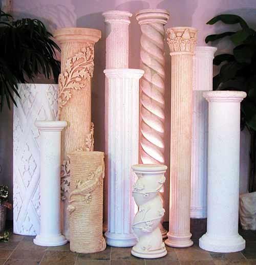 Как сделать колонну в доме