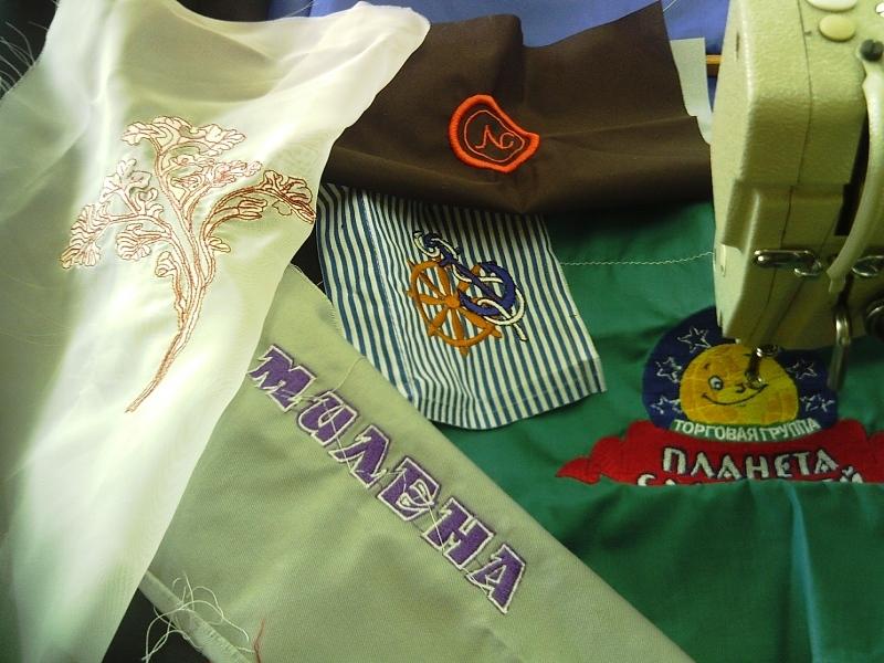 Вышивка на ткани саратов