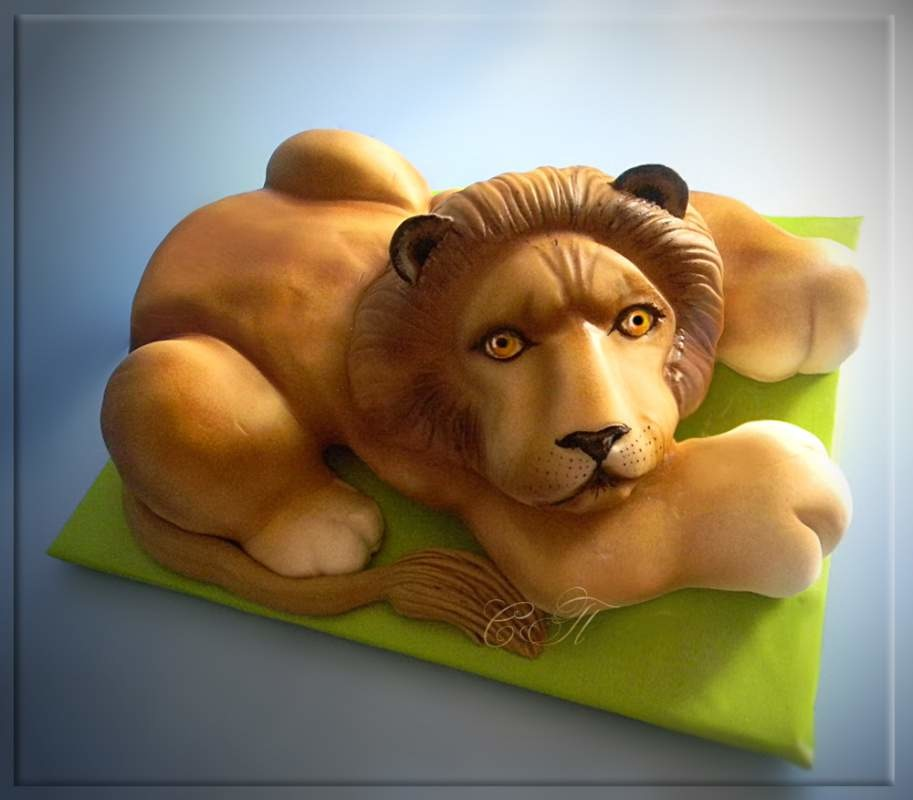 Торт лев мастер-класс