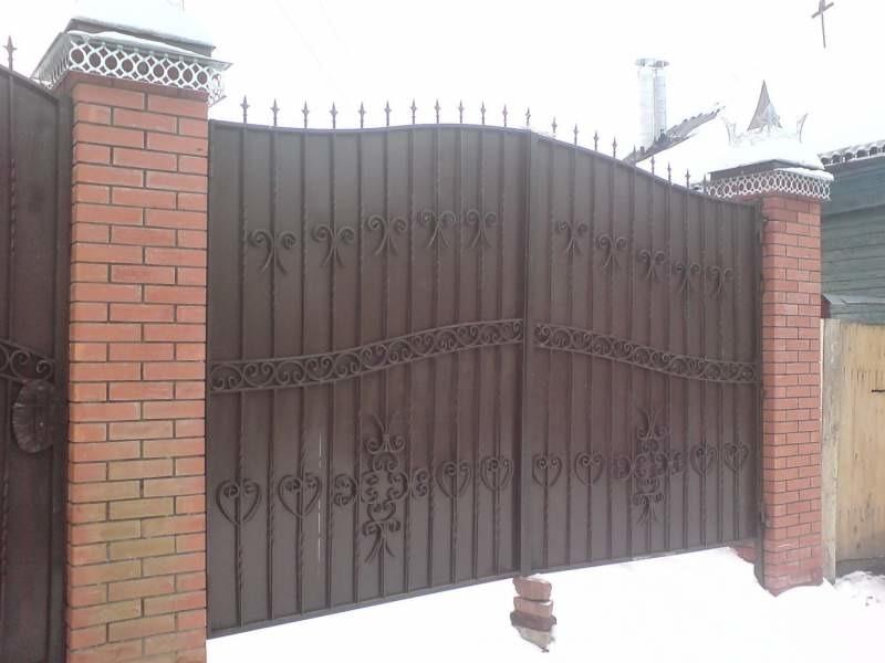 Калитка и ворота для дома цена в ярославле ворота въездные откатные автоматически