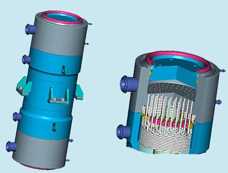 Теплообменники в атомных реакторах теплообменник цена казахстан