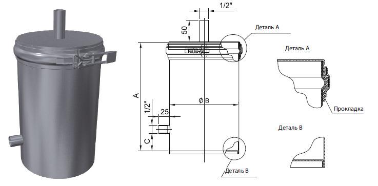 Нейтрализатор конденсата