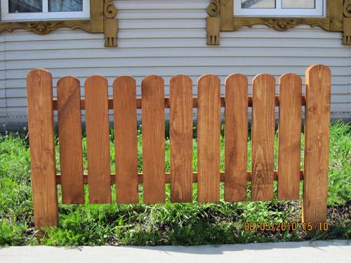Забор маленький своими руками фото