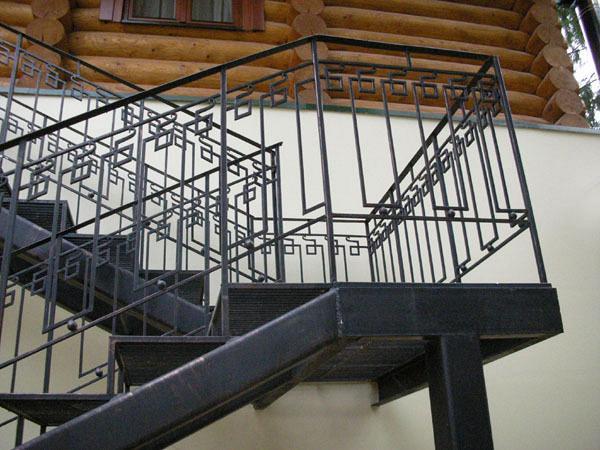 Перила для лестницы своими руками из металла на улице - GumerovOleg.ru