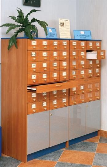 Шкаф каталожный на 24 ящиков оранжевый лес, ооо.