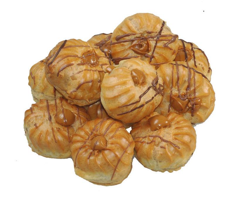Заварные пирожные с вареной сгущенкой рецепт