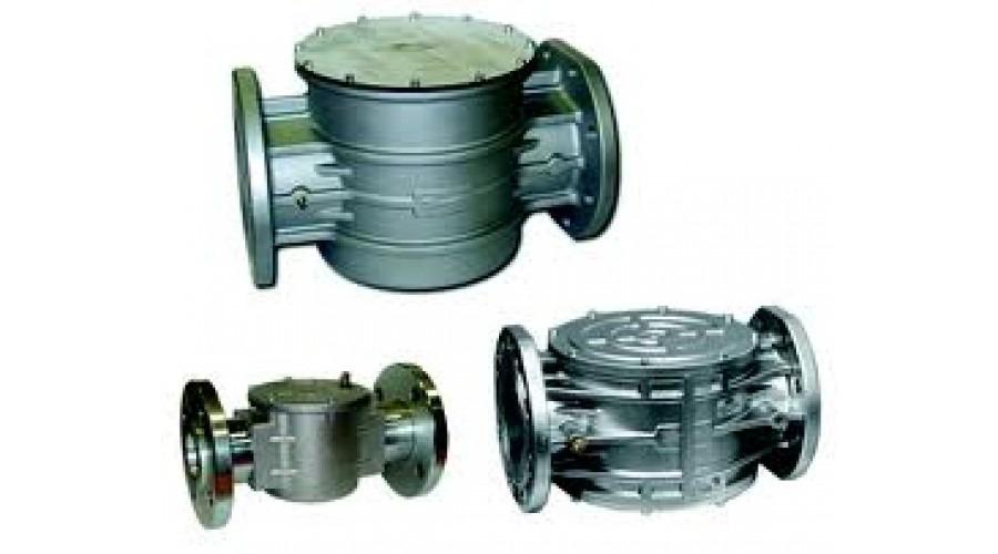Фильтр газовый MADAS Ду 80 Pmax=0,2 МПа,  FF09 c ИПД DP/G1,5 (справа-налево)