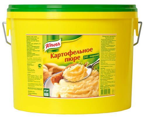 Как сделать картофельное пюре сухое