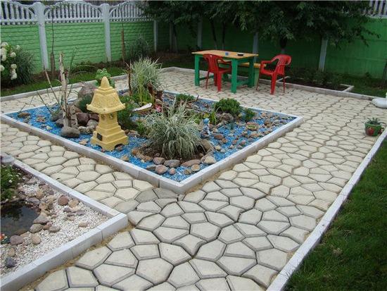 Садовые бордюры своими руками