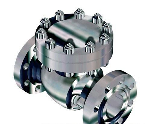 Клапан обратный поворотный с коррозионно-стойким уплотнением, импортного пр-ва