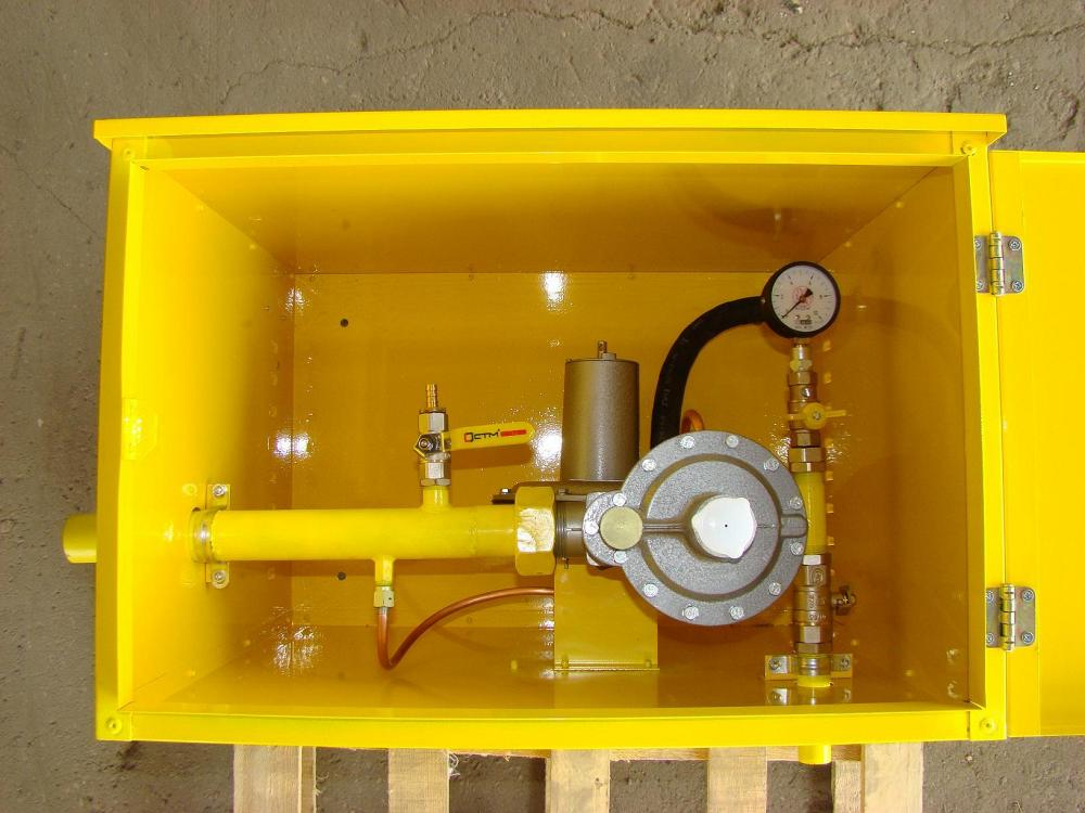 Газорегуляторные пункты ГРПН с регулятором РДУ-32